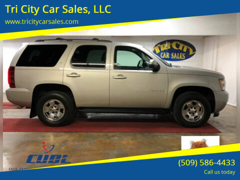 2008 Chevrolet Tahoe for sale at Tri City Car Sales, LLC in Kennewick WA