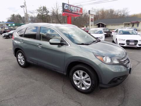 2012 Honda CR-V for sale at Comet Auto Sales in Manchester NH