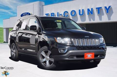 2016 Jeep Compass for sale at TRI-COUNTY FORD in Mabank TX