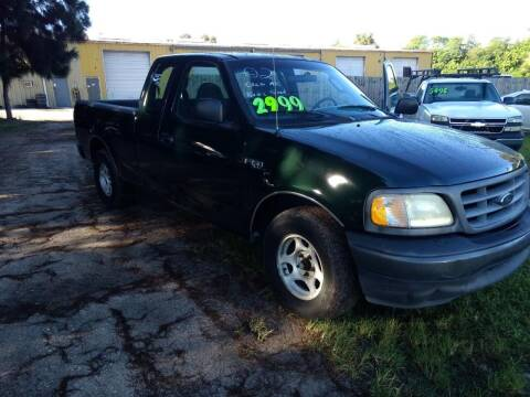 2002 Ford F-150 for sale at Autos by Tom in Largo FL