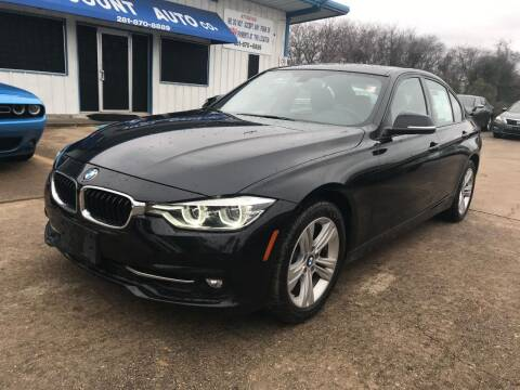 2016 BMW 3 Series for sale at Discount Auto Company in Houston TX