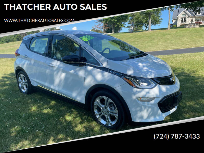 2017 Chevrolet Bolt EV for sale at THATCHER AUTO SALES in Export PA