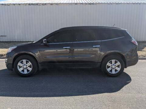 2013 Chevrolet Traverse for sale at TNK Autos in Inman KS