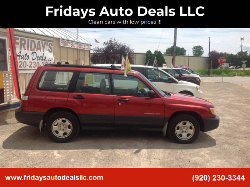 2001 Subaru Forester for sale at Fridays Auto Deals LLC in Oshkosh WI