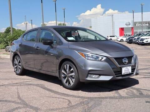 2020 Nissan Versa for sale at EMPIRE LAKEWOOD NISSAN in Lakewood CO