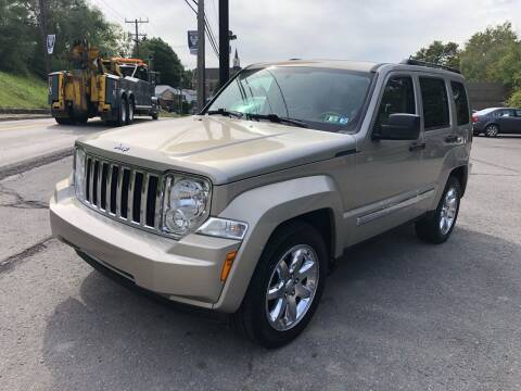 2010 Jeep Liberty for sale at SARRACINO AUTO SALES INC in Burgettstown PA