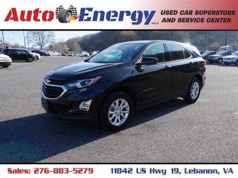 2020 Chevrolet Equinox for sale at Auto Energy in Lebanon VA