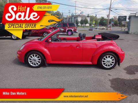 2004 Volkswagen New Beetle Convertible for sale at Mike Dan Motors in Niagara Falls NY