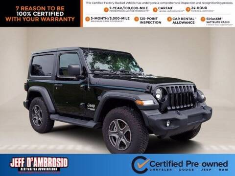 2018 Jeep Wrangler for sale at Jeff D'Ambrosio Auto Group in Downingtown PA