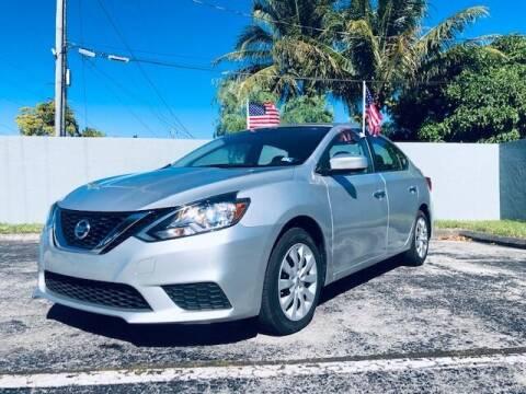 2017 Nissan Sentra for sale at Venmotors LLC in Hollywood FL