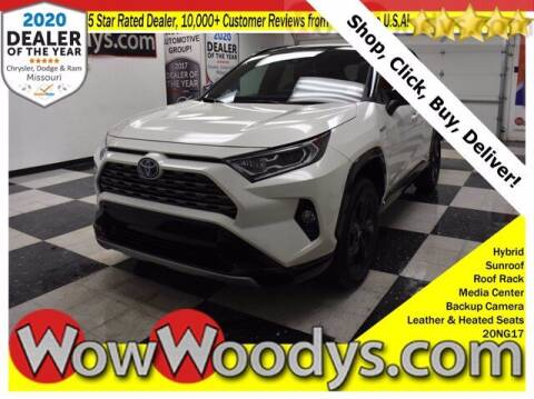 2020 Toyota RAV4 Hybrid for sale at WOODY'S AUTOMOTIVE GROUP in Chillicothe MO