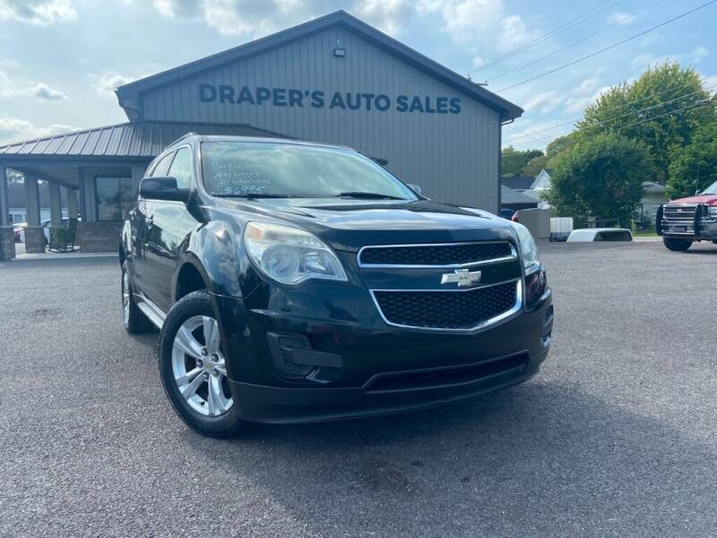 2011 Chevrolet Equinox for sale at Drapers Auto Sales in Peru IN