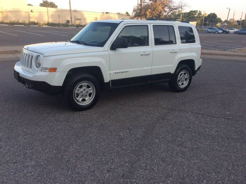 2016 Jeep Patriot for sale at AROUND THE WORLD AUTO SALES in Denver CO