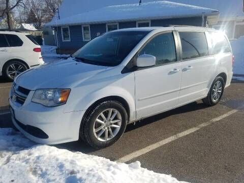 2014 Dodge Grand Caravan for sale at Capital Fleet  & Remarketing  Auto Finance in Columbia Heights MN