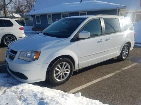 2014 Dodge Grand Caravan for sale at Capital Fleet  & Remarketing  Auto Finance in Columbia Heights MN