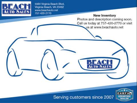 2015 Chevrolet Cruze for sale at Beach Auto Sales in Virginia Beach VA