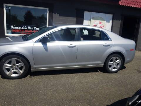 2011 Chevrolet Malibu for sale at Bonney Lake Used Cars in Puyallup WA