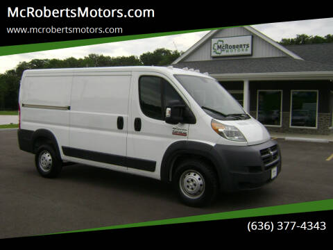 2016 RAM ProMaster Cargo for sale at McRobertsMotors.com in Warrenton MO