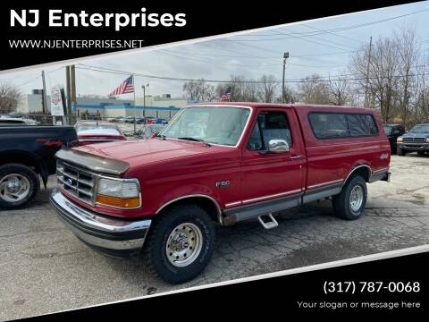1994 Ford F-150 for sale at NJ Enterprises in Indianapolis IN