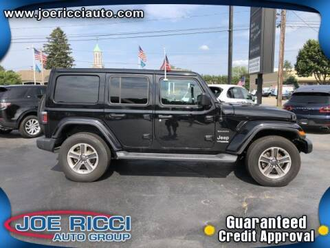 2021 Jeep Wrangler Unlimited for sale at JOE RICCI AUTOMOTIVE in Clinton Township MI
