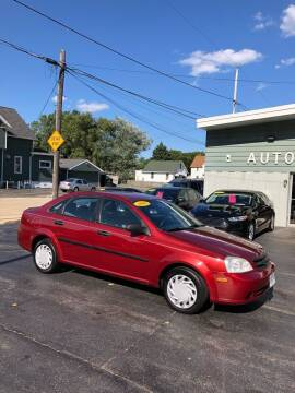 2008 Suzuki Forenza for sale at SHEFFIELD MOTORS INC in Kenosha WI
