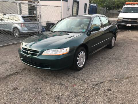 2002 Honda Accord for sale at MG Auto Sales in Pittsburgh PA
