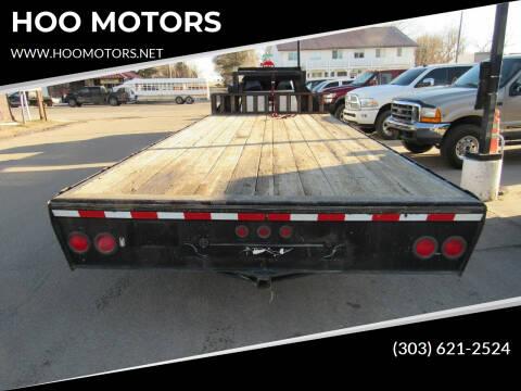 2004 PJ 20 ft trailer for sale at HOO MOTORS in Kiowa CO