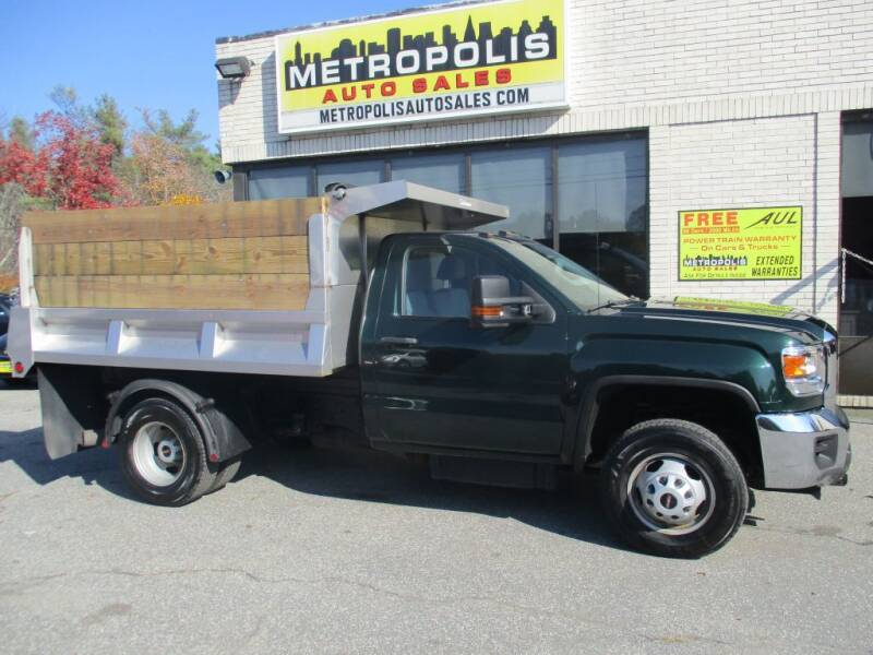 2015 GMC Sierra 1500HD Classic for sale at Metropolis Auto Sales in Pelham NH