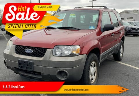 2006 Ford Escape for sale at A & R Used Cars in Clayton NJ