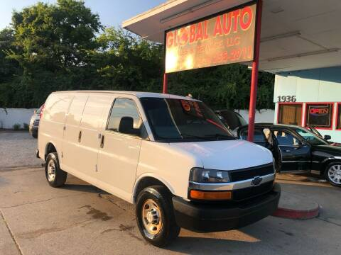 2018 Chevrolet Express Cargo for sale at Global Auto Sales and Service in Nashville TN