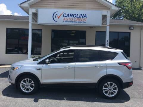 2018 Ford Escape for sale at Carolina Auto Credit in Youngsville NC