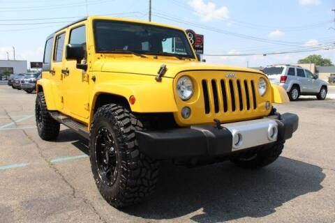 2015 Jeep Wrangler Unlimited for sale at B & B Car Co Inc. in Clinton Township MI