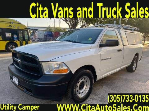 2012 RAM Ram Pickup 1500 for sale at Cita Auto Sales in Medley FL