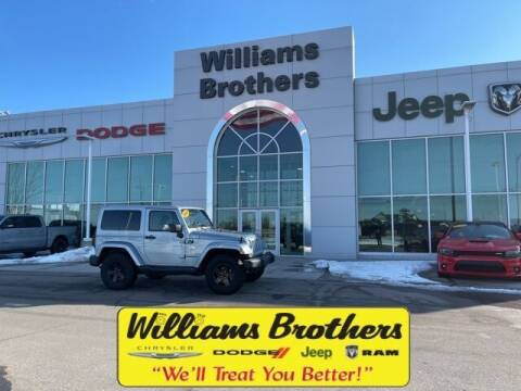 2012 Jeep Wrangler for sale at Williams Brothers - Pre-Owned Monroe in Monroe MI