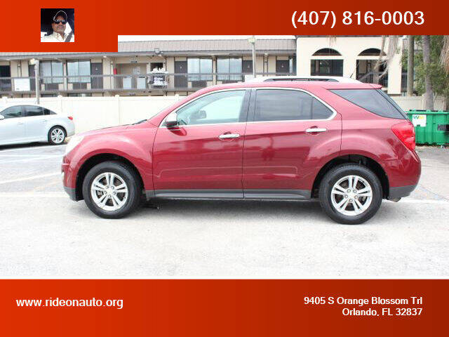 2011 Chevrolet Equinox for sale at Ride On Auto in Orlando FL
