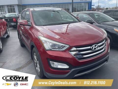 2013 Hyundai Santa Fe Sport for sale at COYLE GM - COYLE NISSAN - New Inventory in Clarksville IN