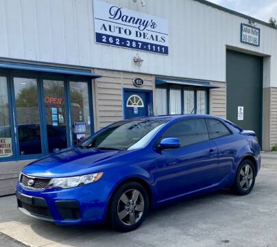 2012 Kia Forte Koup for sale at Danny's Auto Deals in Grafton WI