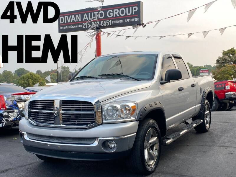 2007 Dodge Ram Pickup 1500 for sale at Divan Auto Group in Feasterville Trevose PA