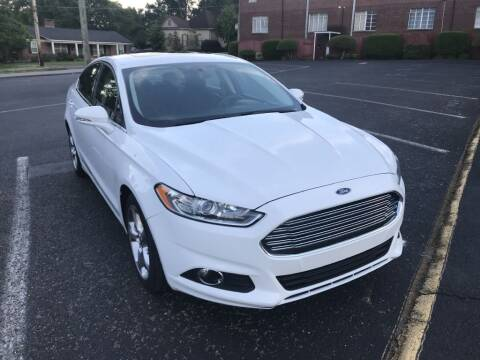 2016 Ford Fusion for sale at DEALS ON WHEELS in Moulton AL