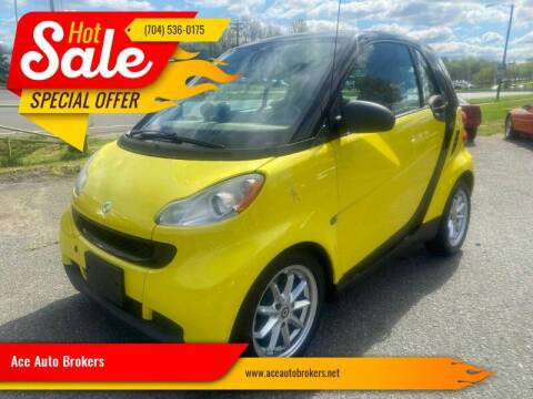 2008 Smart fortwo for sale at Ace Auto Brokers in Charlotte NC