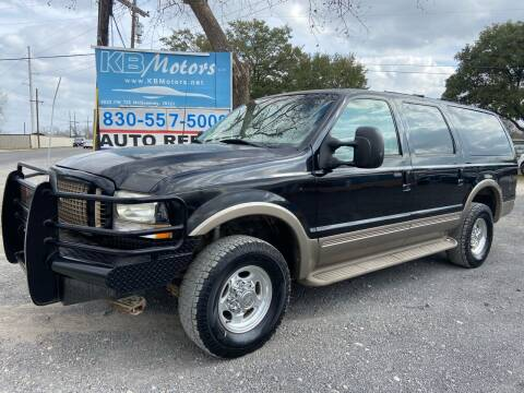 2003 Ford Excursion for sale at K & B Motors LLC in Mc Queeney TX