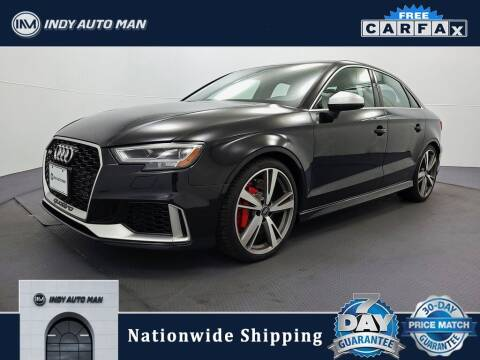 2017 Audi RS 3 for sale at INDY AUTO MAN in Indianapolis IN