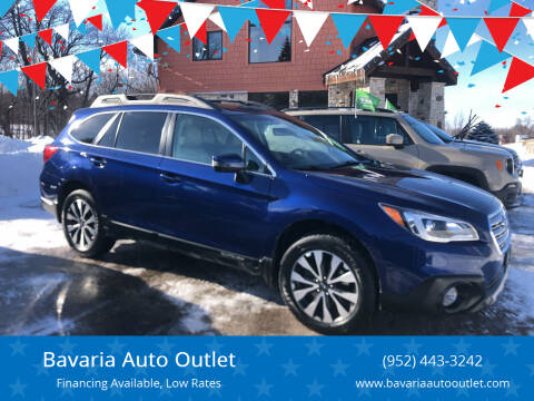 2017 Subaru Outback for sale at Bavaria Auto Outlet in Victoria MN