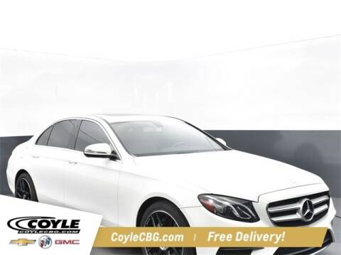 2017 Mercedes-Benz E-Class for sale at COYLE GM - COYLE NISSAN - New Inventory in Clarksville IN