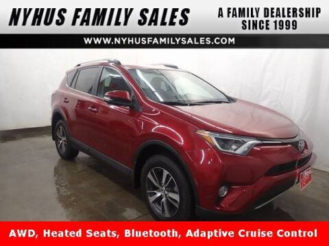 2018 Toyota RAV4 for sale at Nyhus Family Sales in Perham MN