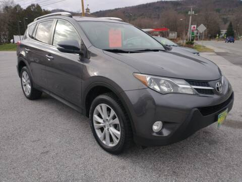 2013 Toyota RAV4 for sale at BAILEY MOTORS INC in West Rutland VT