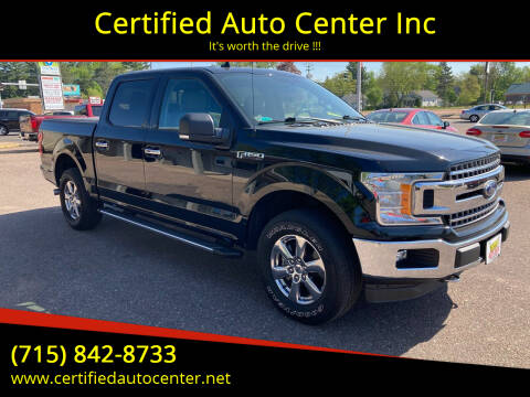 2018 Ford F-150 for sale at Certified Auto Center Inc in Wausau WI