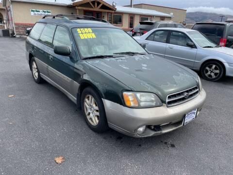 2000 Subaru Outback for sale at Creekside Auto Sales in Pocatello ID