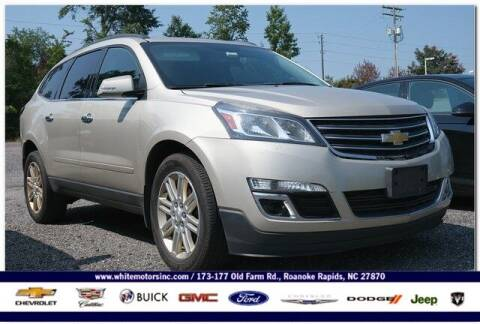 2015 Chevrolet Traverse for sale at WHITE MOTORS INC in Roanoke Rapids NC
