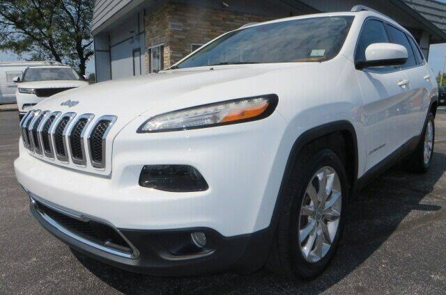 2016 Jeep Cherokee for sale at Eddie Auto Brokers in Willowick OH